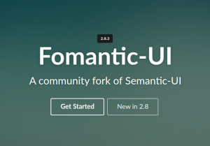 Semantic UI から Fomantic UI へ